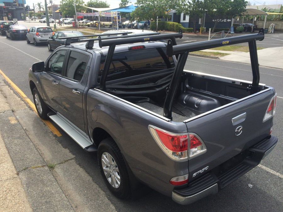 Mazda BT50 Tradesman Rack Set (front & rear rack). HD channel system
