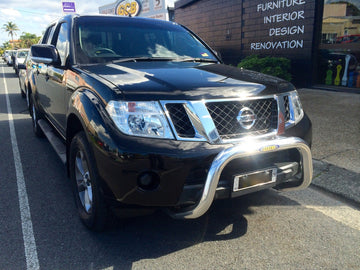 Nissan D40 Navara 76mm Nudge Bar (GCB)