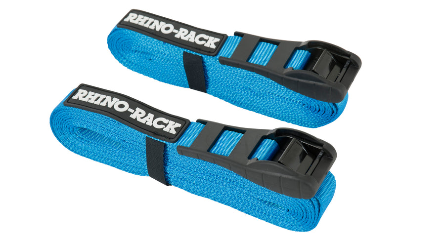 Rhino-Rack 5.5m Rapid Straps w/ Buckle Protector