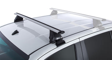 Rhino-Rack Vortex 2500 Silver 2 Bar Roof Rack Set