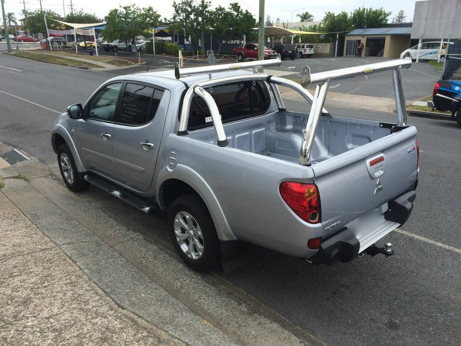 Mitsubishi ML / MN Triton Tradesman Rack & Sportsbar Extension. HD channel system