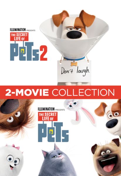 The Secret Life of Pets Collection Vudu HDX or iTunes HD or Google Play HD or Movies Anywhere HD Codes (HD iTunes & HD Google Play Transfer From Movies Anywhere) (2 Movies, 2 Codes)