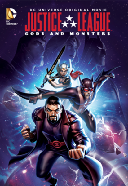 Justice League: Gods and Monsters HD Digital Code (Redeems in Movies Anywhere; HDX Vudu & HD iTunes & HD Google Play Transfer From Movies Anywhere)