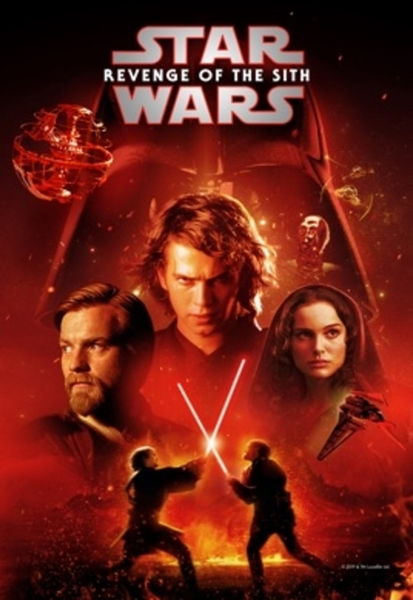 Star Wars: Episode III - Revenge of the Sith 4K Digital Code (Redeems in Movies Anywhere; UHD Vudu & 4K Google Play & HD iTunes Transfer From MA) (NO 4K ITUNES) (Full Code, No Disney Insiders Points)