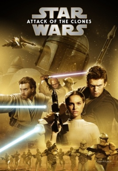 Star Wars: Episode II - Attack of the Clones 4K Digital Code (Redeems in Movies Anywhere; UHD Vudu & 4K Google Play & HD iTunes Transfer From MA) (NO 4K ITUNES) (Full Code, No Disney Insiders Points)