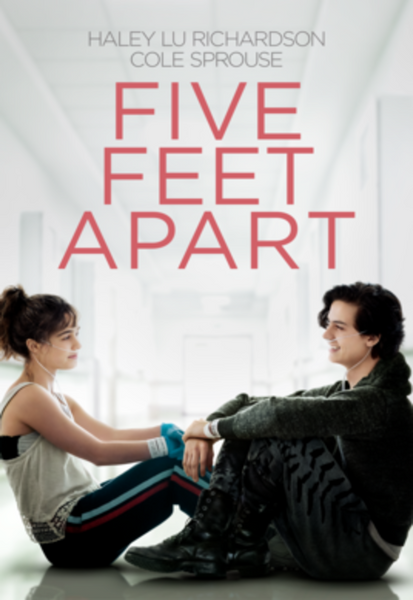Five Feet Apart iTunes 4K or Vudu HDX or Google Play HD Code