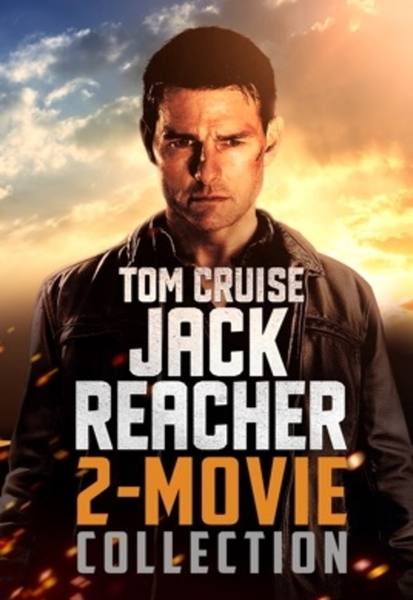 Jack Reacher 2-Movie Collection Vudu HDX Digital Codes (2 Movies, 2 Codes)