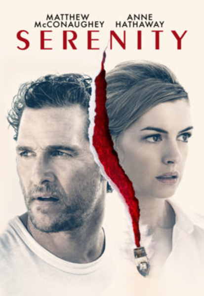Serenity (2019) Vudu HDX or iTunes HD or Google Play HD or Movies Anywhere HD Code (HD iTunes & HD Google Play Transfer From Movies Anywhere)