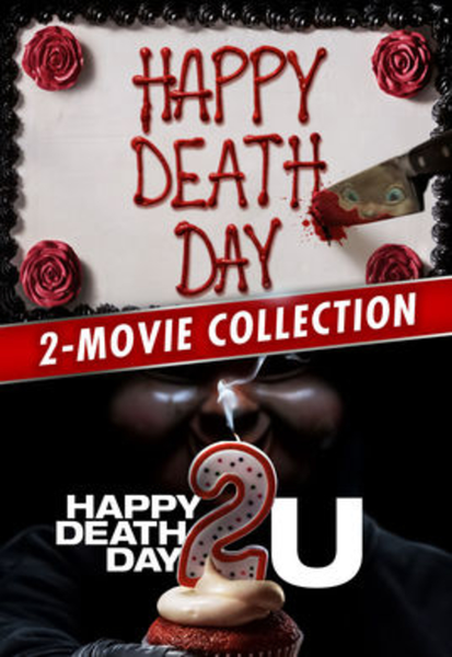 Happy Death Day Collection Vudu HDX or iTunes HD or Google Play HD or Movies Anywhere HD Codes (HD iTunes & HD Google Play Transfer From Movies Anywhere) (2 Movies, 2 Codes)