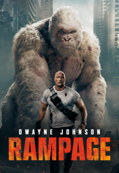 Rampage HD Digital Code (Redeems in Movies Anywhere; HDX Vudu & HD iTunes & HD Google Play Transfer From Movies Anywhere)