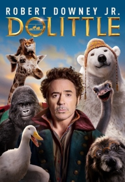 Dolittle (2020) 4K Digital Code (Redeems in Movies Anywhere; UHD Vudu & 4K iTunes & 4K Google Play Transfer From Movies Anywhere)