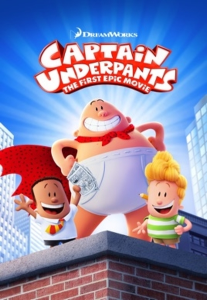 Captain Underpants: The First Epic Movie HD Digital Code (Redeems in Movies Anywhere; HDX Vudu & HD iTunes & HD Google Play Transfer From Movies Anywhere)