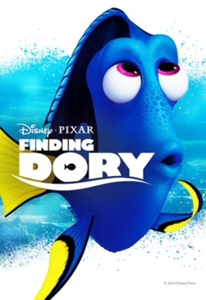 Finding Dory HD Digital Code (Redeems in Movies Anywhere; HDX Vudu & HD iTunes & HD Google Play Transfer From Movies Anywhere) (Full Code, No Disney Insiders Points)