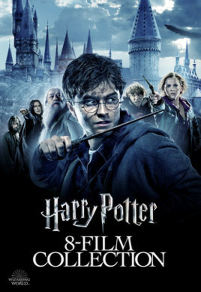 Harry Potter Collection 4K Movies Anywhere or UHD Vudu or 4K iTunes or 4K Google Play Code (Redeems in Movies Anywhere; UHD Vudu & 4K iTunes & 4K Google Play Transfer From Movies Anywhere) (8 Movies, 1 Code)
