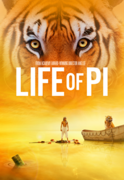 Life Of Pi iTunes 4K or Vudu HDX or Google Play HD or Movies Anywhere HD Digital Code