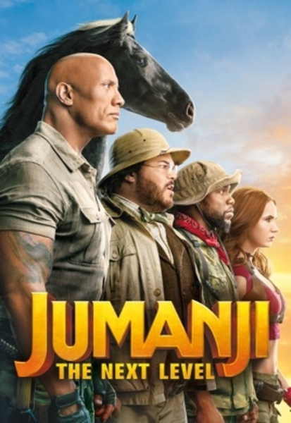 Jumanji: The Next Level (2019) 4K Digital Code (Redeems in Movies Anywhere; UHD Vudu & 4K iTunes & 4K Google Play Transfer From Movies Anywhere)