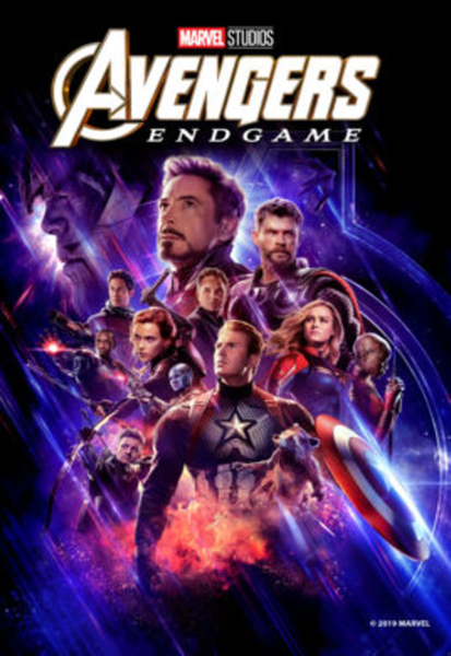 Avengers: Endgame 4K Digital Code (Redeems in Movies Anywhere; UHD Vudu & 4K Google Play & HD iTunes Transfer From Movies Anywhere) (NO 4K ITUNES) (Full Code, No Disney Insiders Points)