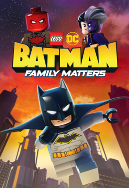LEGO DC: Batman: Family Matters HD Digital Code (Redeems in Movies Anywhere; HDX Vudu & HD iTunes & HD Google Play Transfer From Movies Anywhere)