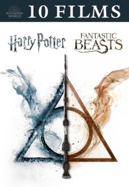 Harry Potter & Fantastic Beasts 10-Movie Collection 4K Digital Codes (Redeems in Movies Anywhere; UHD Vudu & 4K iTunes & 4K Google Play Transfer From Movies Anywhere) (10 Movies, 3 Codes)