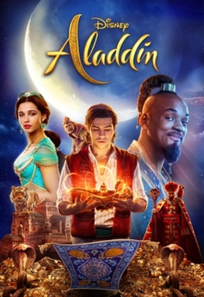 Aladdin (2019 Live Action) HD Digital Code (Redeems in Movies Anywhere; HDX Vudu & HD iTunes & HD Google Play Transfer From Movies Anywhere) (Full Code, No Disney Insiders Points)