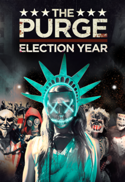 The Purge: Election Year HD Digital Code (Redeems in Movies Anywhere; HDX Vudu & HD iTunes & HD Google Play Transfer From Movies Anywhere)