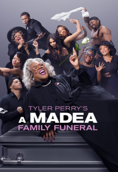 Tyler Perry's A Madea Family Funeral Vudu HDX or iTunes HD or Google Play HD Digital Code
