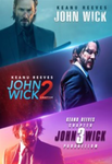 John Wick 3-Movie Collection iTunes 4K Digital Codes (3 Movies, 3 Codes)