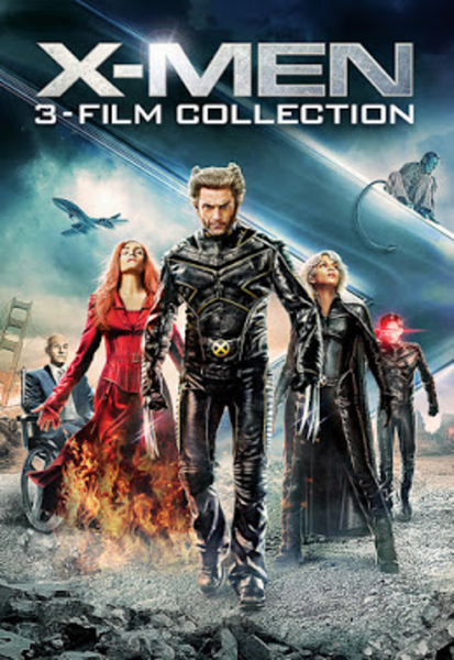 X-Men Trilogy Vudu HDX or iTunes HD or Google Play HD or Movies Anywhere HD Code (HD iTunes & HD Google Play Transfer From Movies Anywhere) (3 Movies, 1 Code)