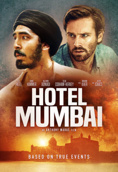 Hotel Mumbai Vudu HDX or iTunes HD or Google Play HD or Movies Anywhere HD Code (HD iTunes & HD Google Play Transfer From Movies Anywhere)