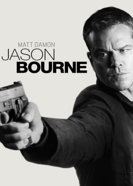 Jason Bourne Vudu HDX or Google Play HD or Movies Anywhere HD Code (HD Google Play Transfers From Movies Anywhere)