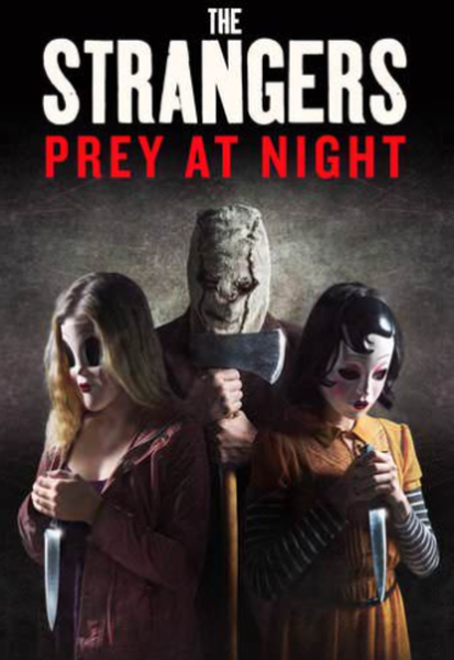 The Strangers: Prey At Night Vudu HDX or iTunes HD or Google Play HD or Movies Anywhere HD Code (HD iTunes & HD Google Play of the Theatrical Version Transfer From Movies Anywhere) (Theatrical Version; iTunes Extras Contains Unrated Version)