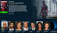 Deadpool Vudu HDX or Google Play HD or Movies Anywhere HD Code