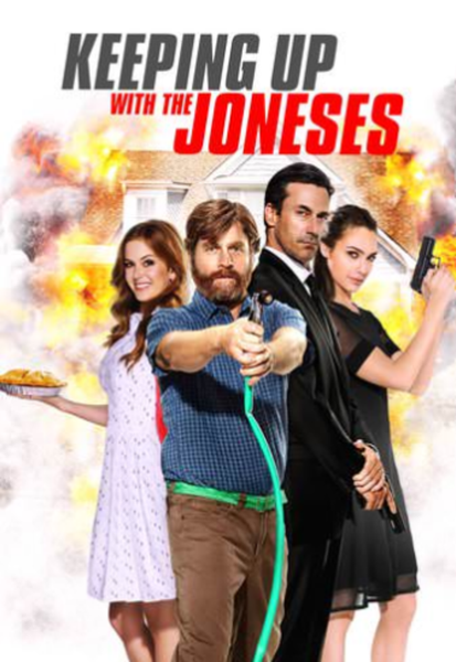 Keeping Up With The Joneses iTunes 4K Code (Redeems in iTunes; UHD Vudu Transfers Across Movies Anywhere - SEE ITEM DESCRIPTION)