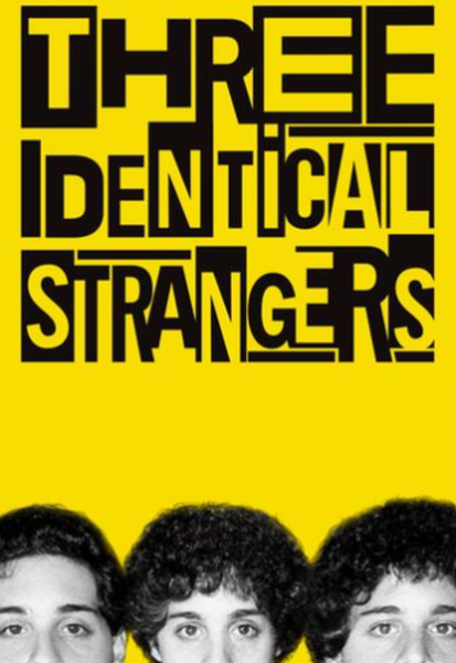 Three Identical Strangers Vudu HDX or iTunes HD or Google Play HD or Movies Anywhere HD Code (HD iTunes & HD Google Play Transfer From Movies Anywhere)