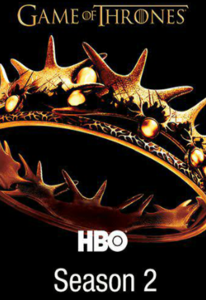 Game of Thrones Season 2 iTunes HD Digital Code (10 Episodes)