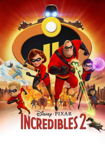 The Incredibles 2 HD Digital Code (Redeems in Movies Anywhere; HDX Vudu & HD iTunes & HD Google Play Transfer From Movies Anywhere) (Full Code, No Disney Insiders Points)