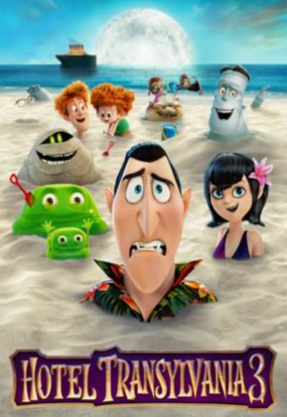 Hotel Transylvania 3 4K Digital Code (Redeems in Movies Anywhere; UHD Vudu & 4K iTunes & 4K Google Play Transfer From Movies Anywhere)