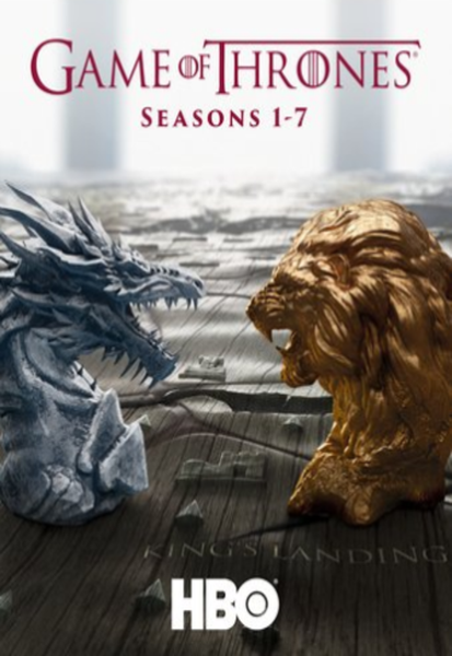 Game Of Thrones Seasons 1-7 iTunes HD Code (67 Episodes, 7 Seasons, 1 Code)