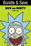 Rick And Morty Seasons 1-3 Vudu HDX Code (31 Episodes, 3 Seasons, 1 Code)