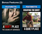 A Quiet Place UHD Vudu Digital Code