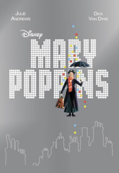 Mary Poppins (1964) Vudu HDX or iTunes HD or Google Play HD or Movies Anywhere HD Code (No Disney Reward Points Included)