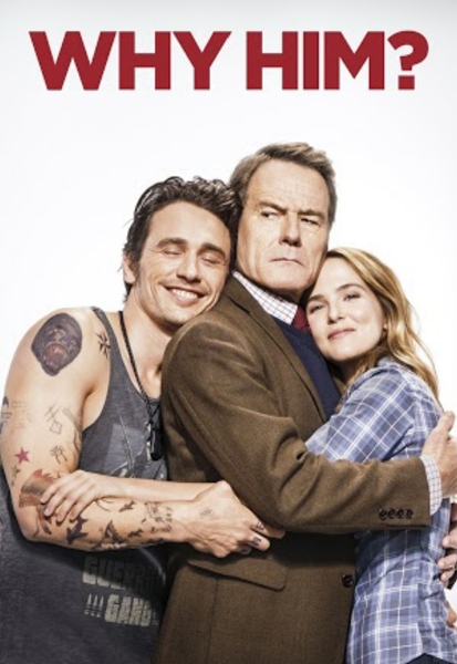 Why Him? iTunes 4K or Vudu HDX or Google Play HD or Movies Anywhere HD Digital Code