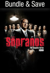 The Sopranos: The Complete Series Google Play HD Digital Code (86 Episodes, 6 Seasons, 1 Code)