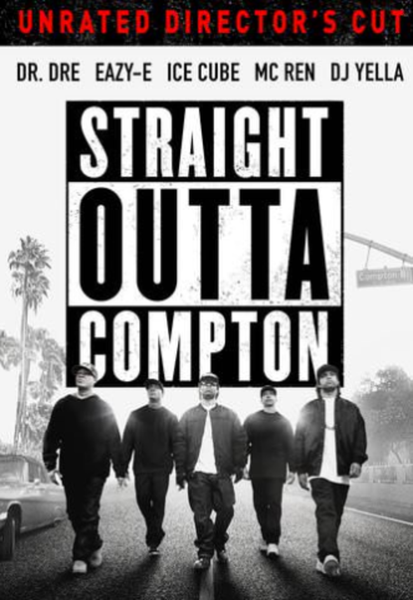 Straight Outta Compton Vudu HDX Code (Redeems in Vudu; HD iTunes & HD Google Play Transfer Across Movies Anywhere) (Unrated Director's Cut)