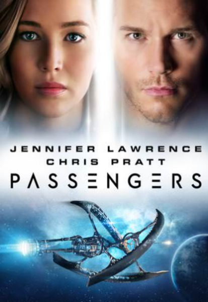 Passengers Vudu HDX or iTunes HD or Google Play HD or Movies Anywhere HD Code (HD iTunes & HD Google Play Transfer From Movies Anywhere)