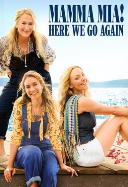 Mamma Mia! Here We Go Again Vudu HDX or iTunes HD or Google Play HD or Movies Anywhere HD Code (HD iTunes & HD Google Play Transfer From Movies Anywhere)
