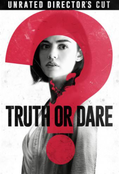 Truth Or Dare Vudu HDX or iTunes HD or Google Play HD or Movies Anywhere HD Code (HD iTunes & HD Google Play Transfer From Movies Anywhere) (Unrated Director's Cut; iTunes Extras Contains Theatrical Version)