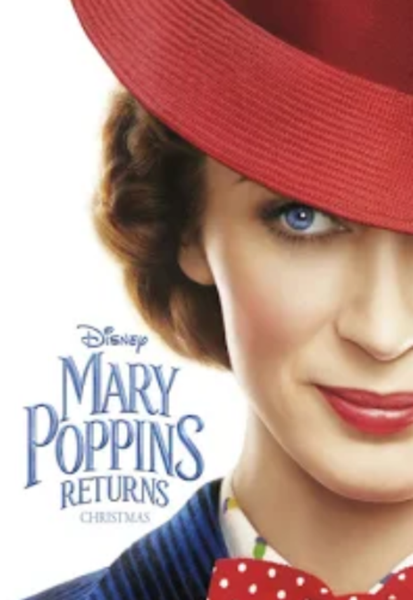 Mary Poppins Returns HD Digital Code (Redeems in Movies Anywhere; HDX Vudu & HD iTunes & HD Google Play Transfer From Movies Anywhere) (Full Code, No Disney Insiders Points)