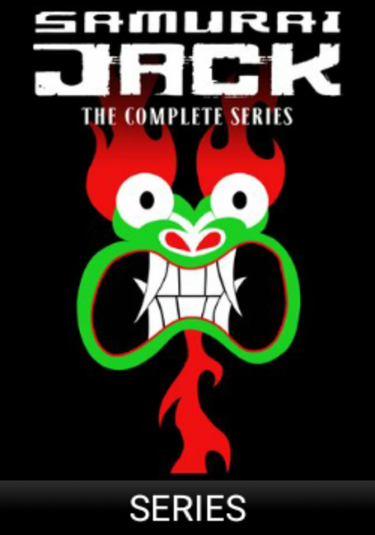 Samurai Jack: The Complete Series Vudu HDX Digital Code (62 Episodes, 5 Seasons, 1 Code)