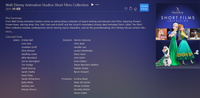 Walt Disney Animation Studios Short Films Collection Vudu HDX or iTunes HD or Google Play HD or Movies Anywhere HD Code (150 Point Full Code)
